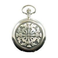 Picture of Four Thistles Mechanical Pocket Watch