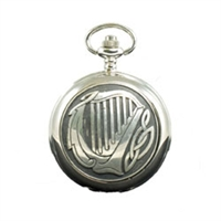 Picture of Celtic Harp Mechanical Pocket Watch