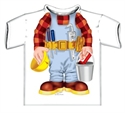 Picture of Builder Just Add A Kid T-Shirt Age 4-6