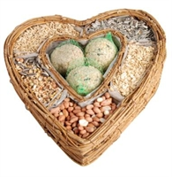 Picture of Bird Seed Basket - Heart